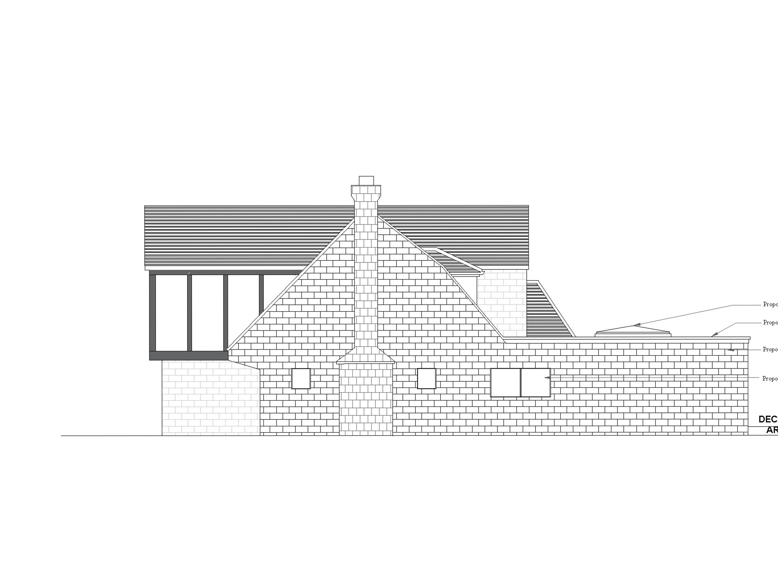 14 proposed side1 elevation