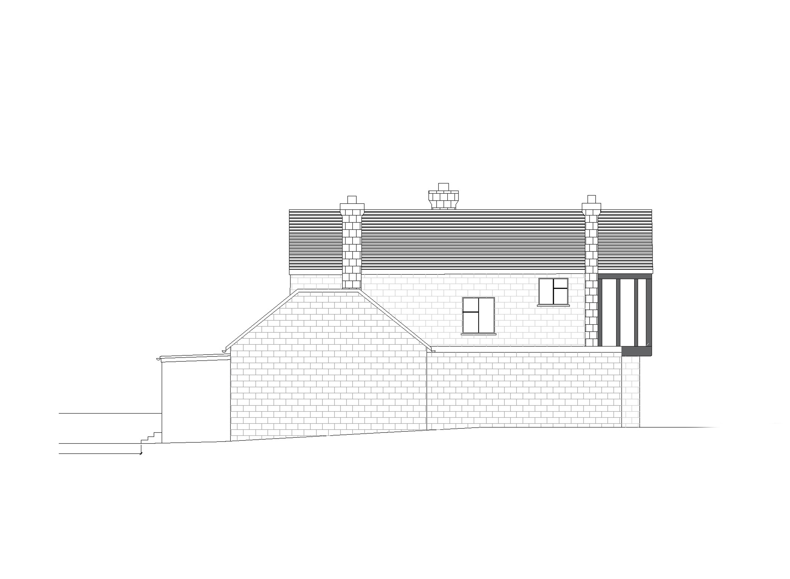 15 proposed side2 elevation