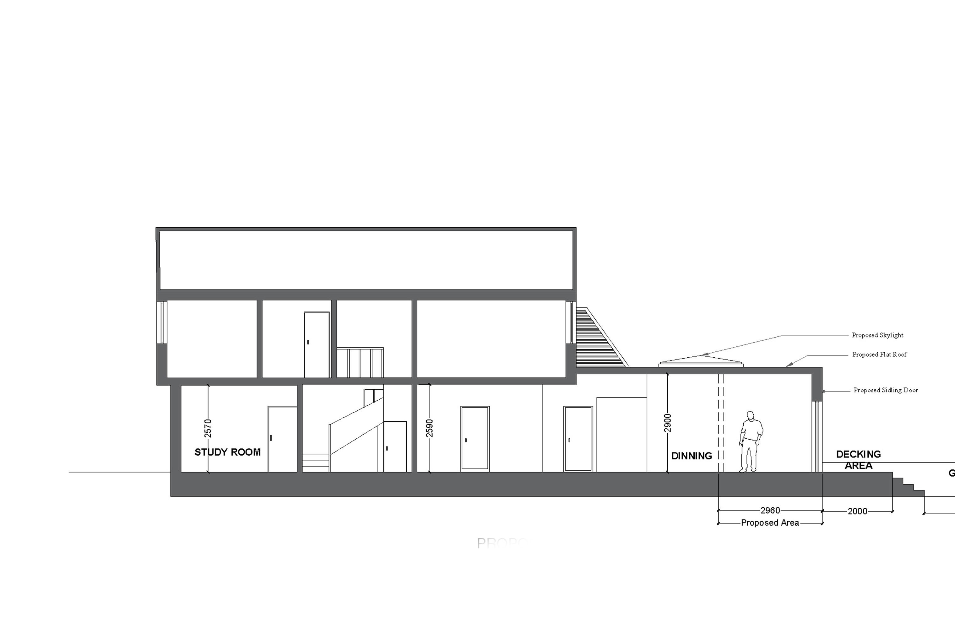 16 proposed side3 elevation