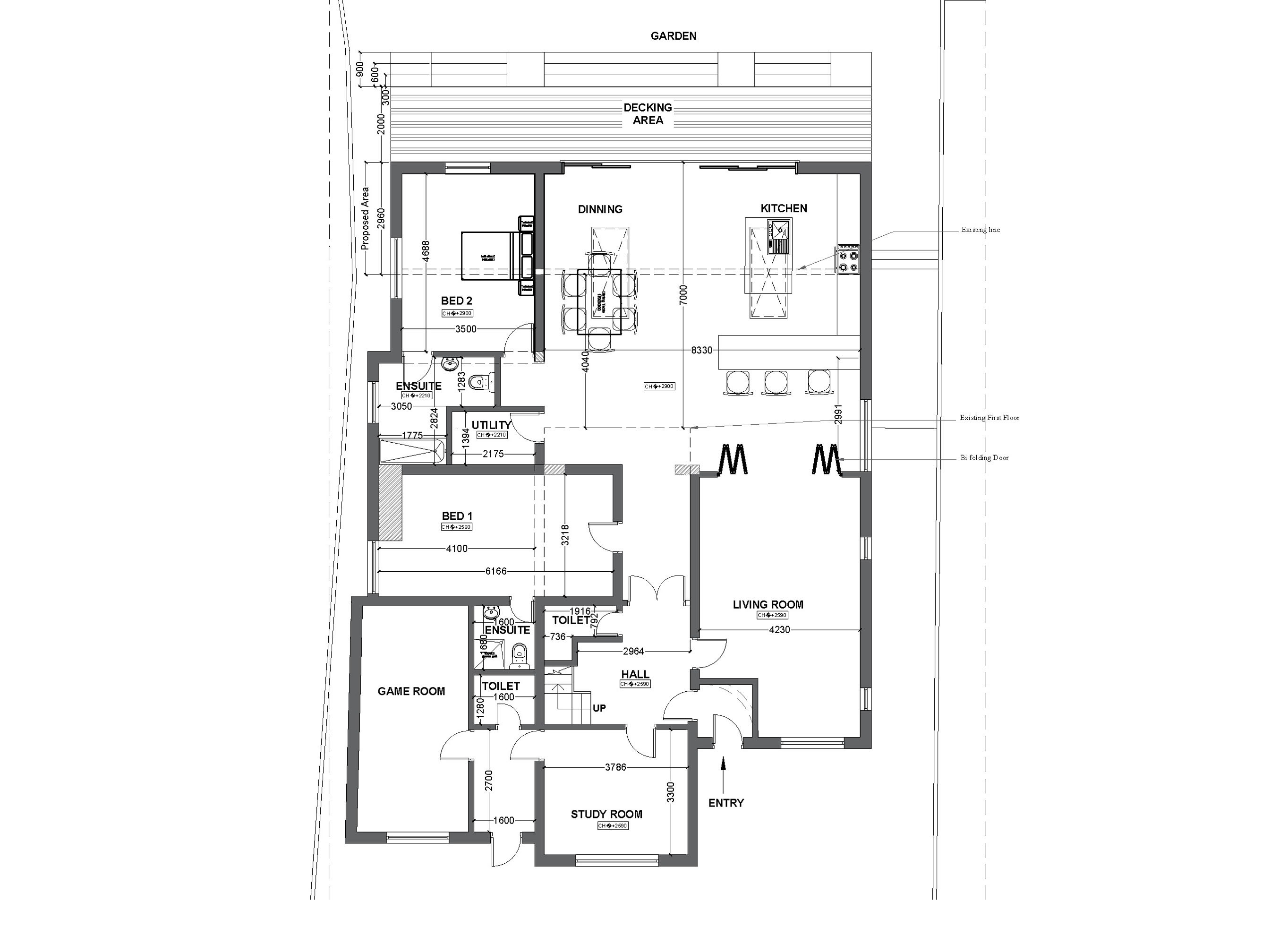 9 proposed G floor plan