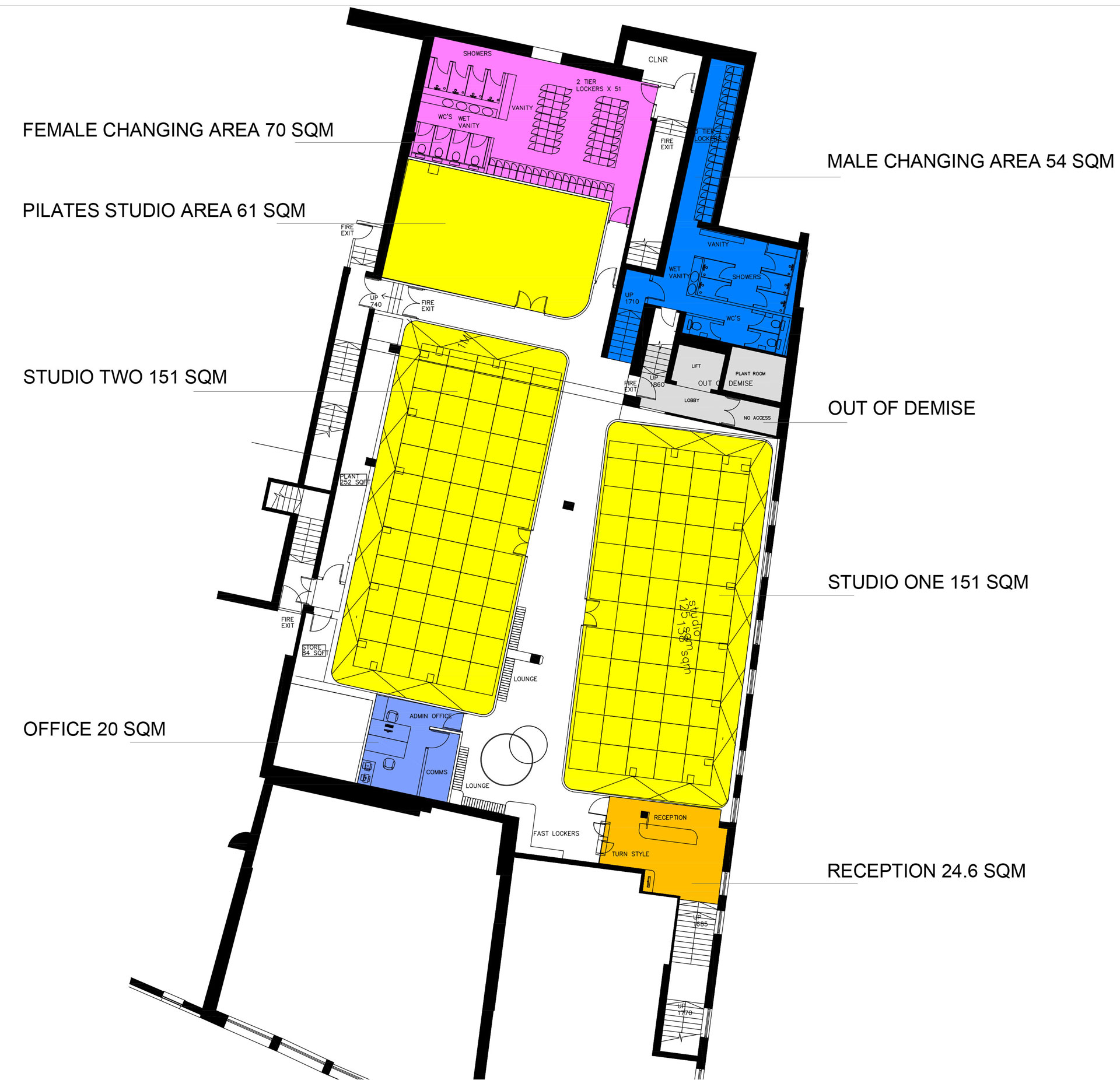 Change-of-Use-in-Croydon,-from-a-nightclub-to-a-Gym-Proposed
