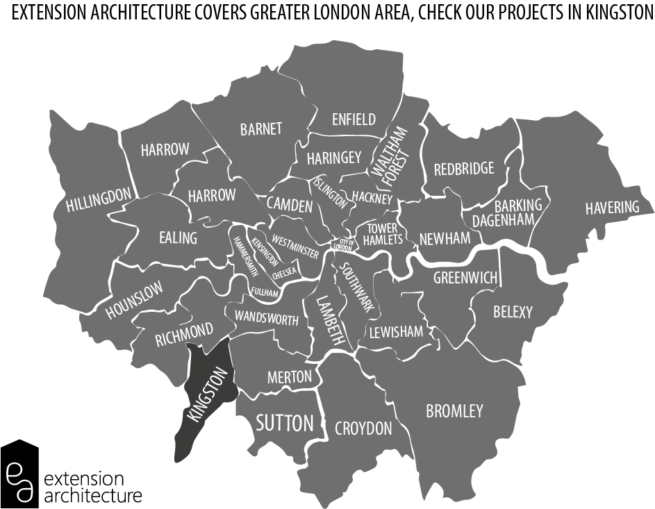 EXTENSION ARCHITECTURE GREATER LONDON MAP