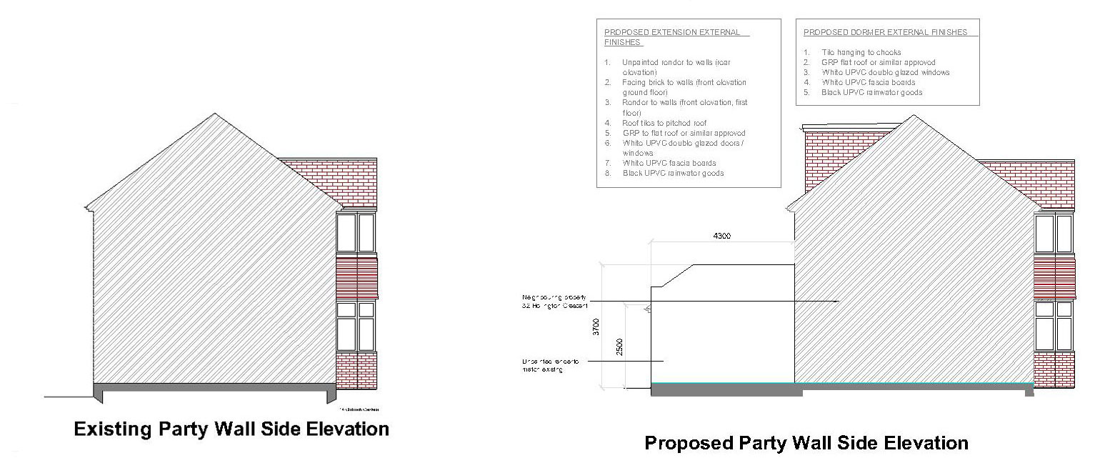 Side-&-Rear-Extension,-Double-storey-extension,-Loft-conversion-in-New-Malden-party-wall
