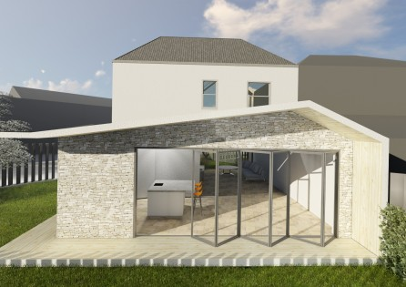 New Build Modern House in Croydon