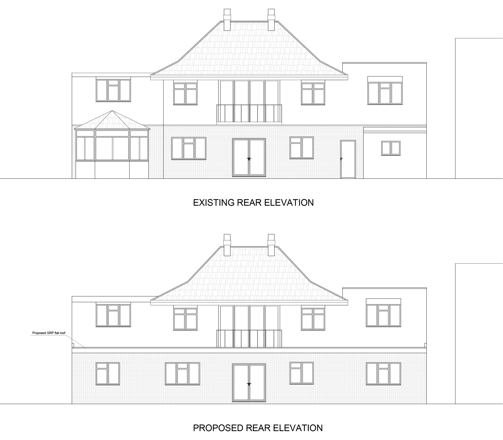 Rear-Extension-in-Waltham-Forest-Front-Elevation