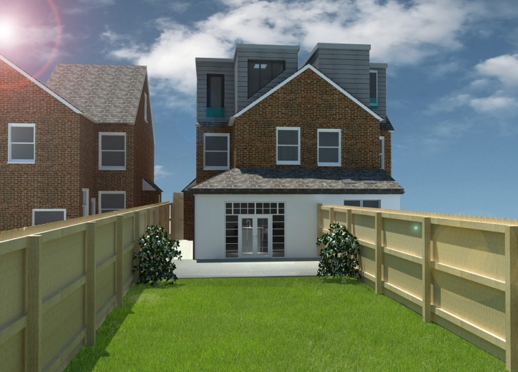 Single Storey Side Extension in Epsom