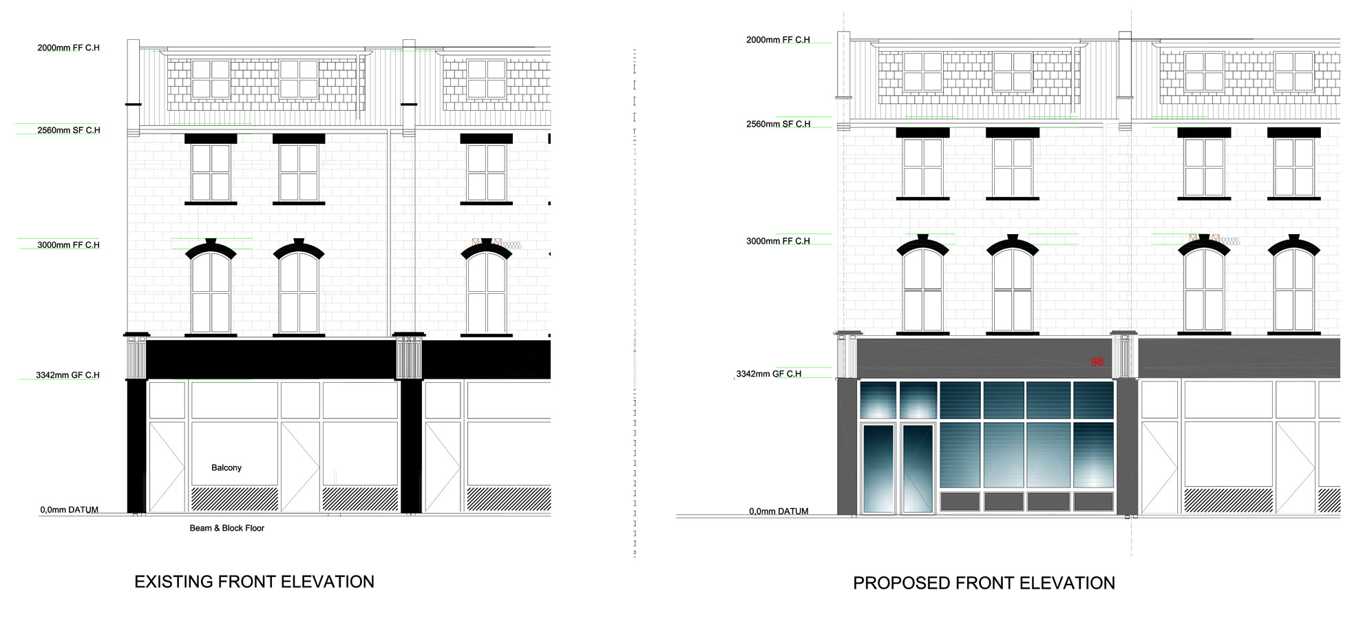 Basement-Extension-in-Islington-Proposed-Elevation