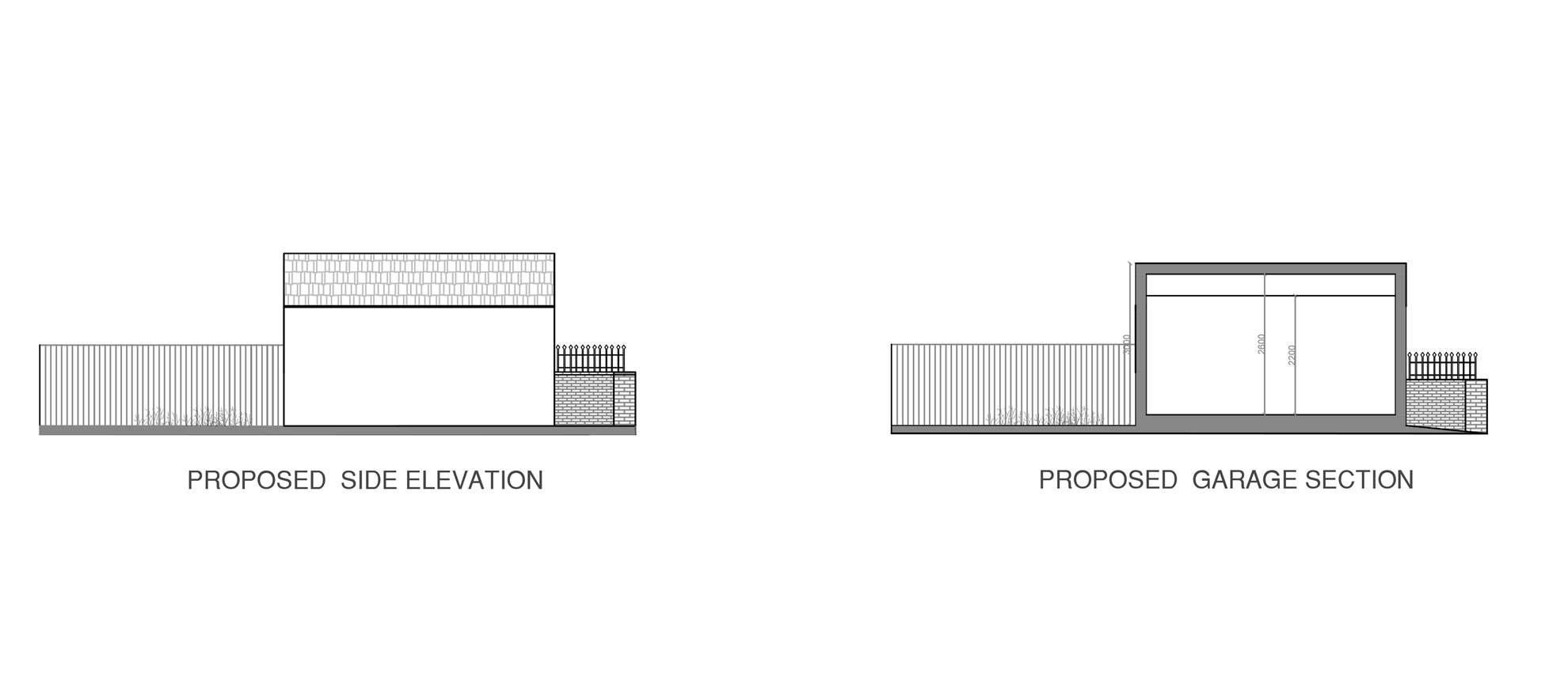 Roof-Terrace-&-Garage-conversion-in-Croydon-Proposed-Garage