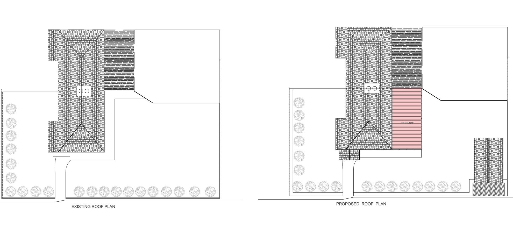 Roof-Terrace-&-Garage-conversion-in-Croydon-Roof-Plan