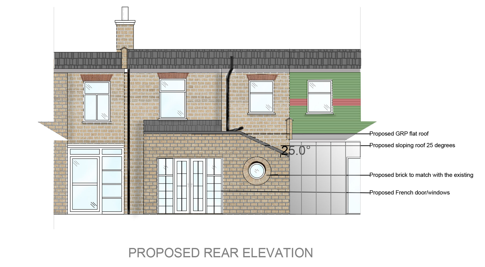 Terraced-Rear-Extension-in-Waltham-Forest-Proposed