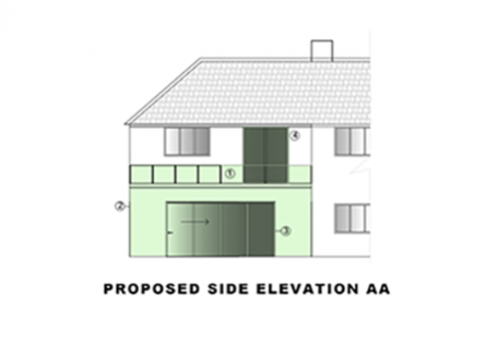 Roof Terrace & Garage conversion in Croydon