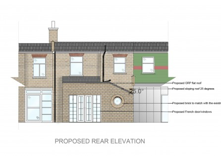 Terraced Rear Extension in Waltham Forest