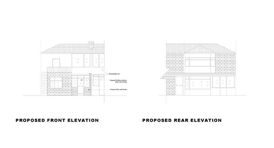 Proposed-Front-and-Rear-Elevation-Rear-Extension-in-Brent