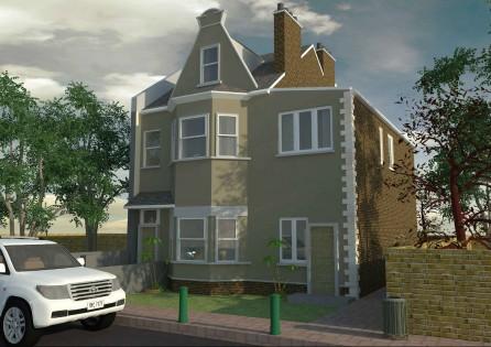 Double Storey Extension in Croydon