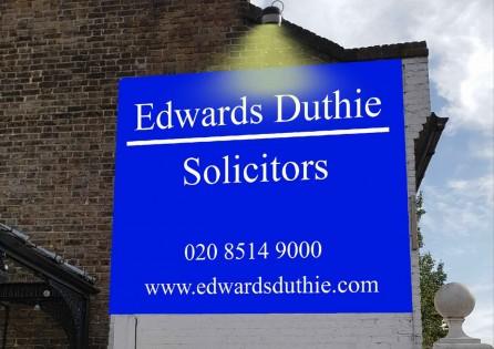 Signage Advertisement in Redbridge