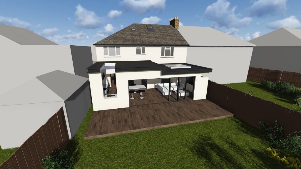 image on portfolio for New Build Flats in Epsom
