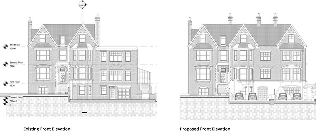 Cottenham-Park-Road-Front-Elevation-2