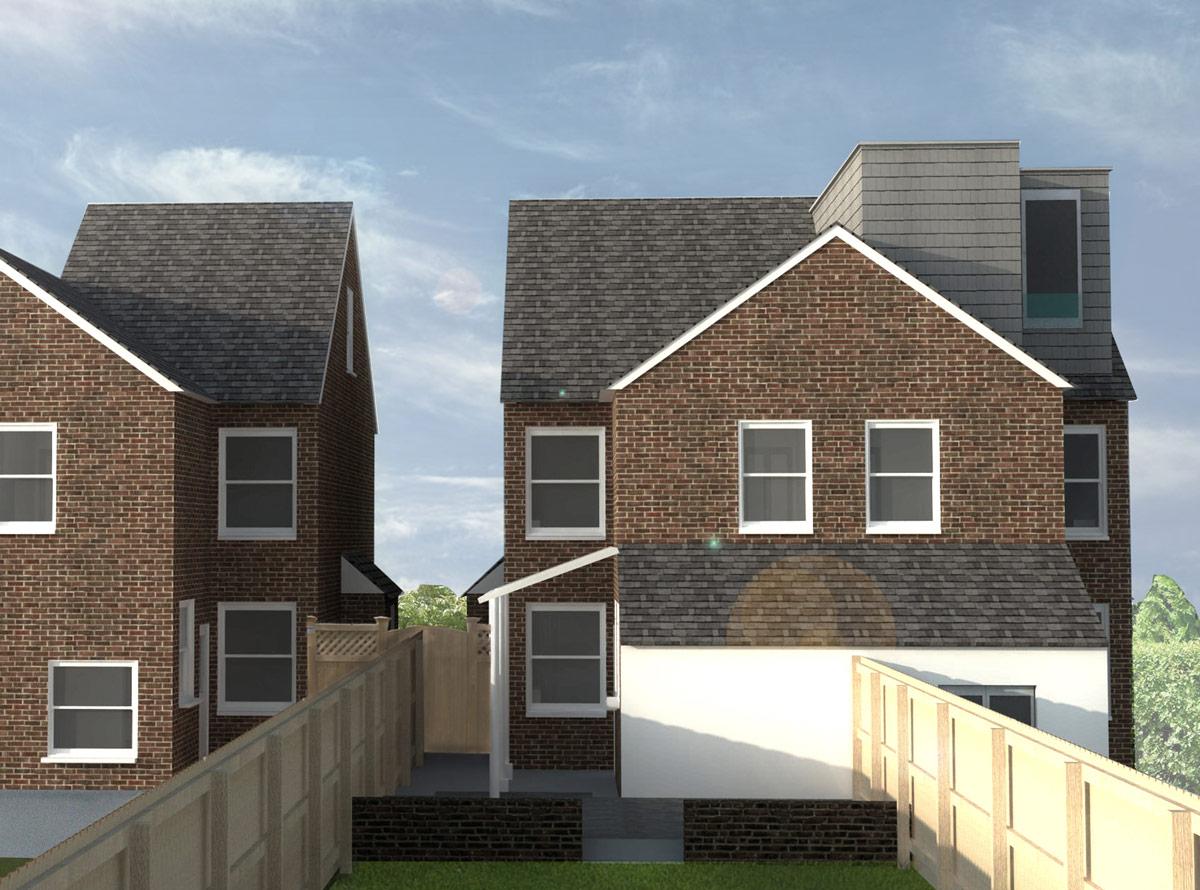 double storey - loft extension