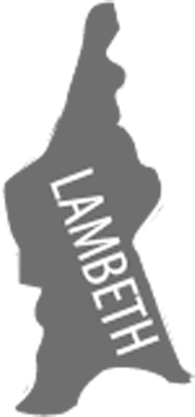 Lambeth Borough Map Icon