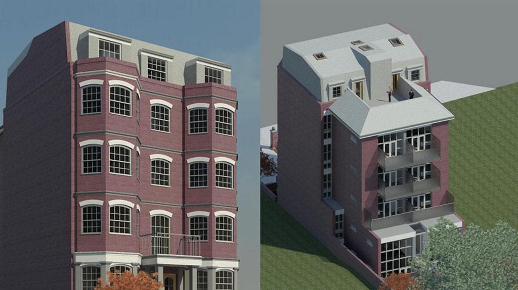Lambeth Council Clapham Road Project 3D Visualisation