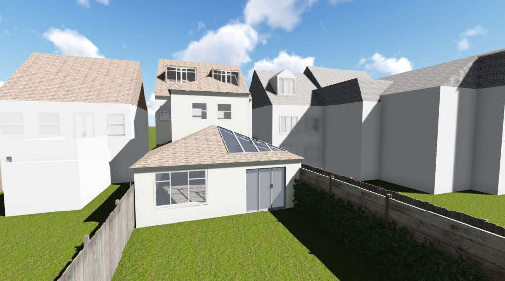 Amazing The Project Involved A Conversion Of A Semi Detached House In The Urban  Area, Into 3 Flats Consisting Of 2 X2 Bedroom And 1 X 1 Bedroom With  Existing ...
