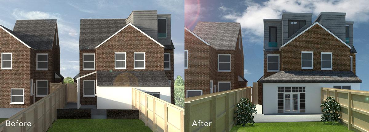 Side Extension & Loft Conversion