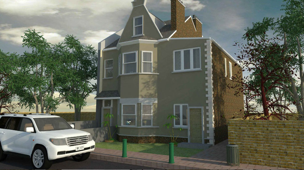 Double Storey Extension for Semi-Detached House in Barking