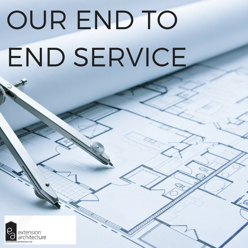End to End Service, One Stop Shop, Architectural Services, Extension Architecture Services,