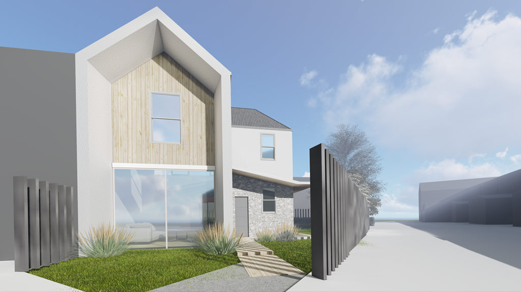 New Build Semi Detached House in Barking