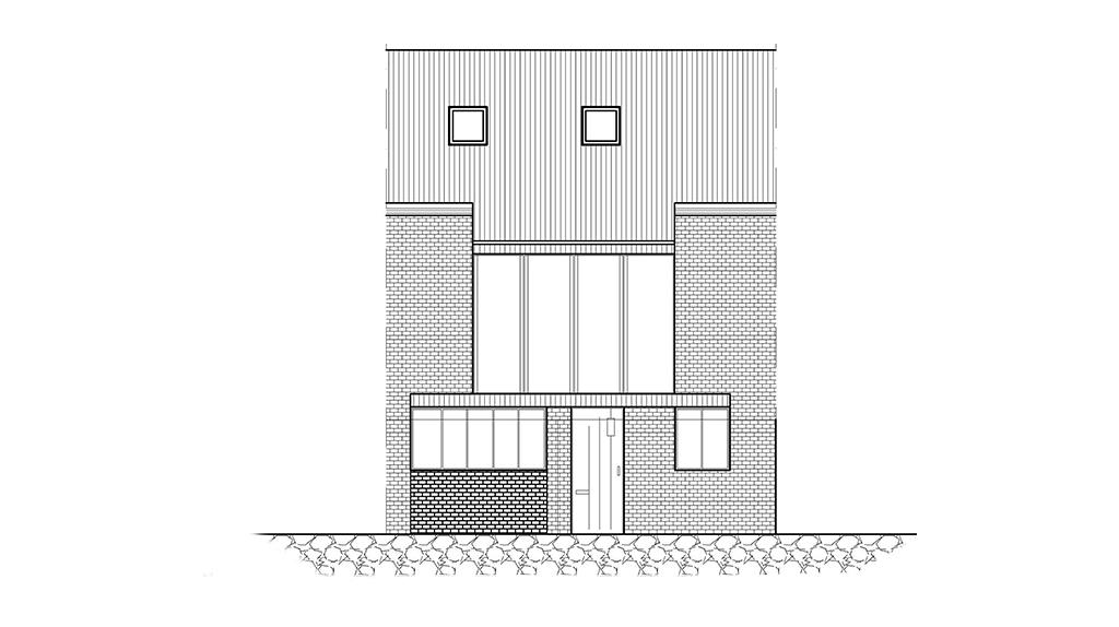 Terrace House in Hackney
