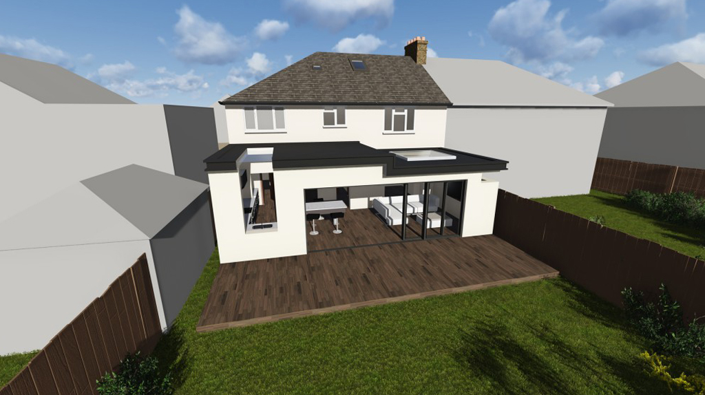 Single Storey Extension in Dorking