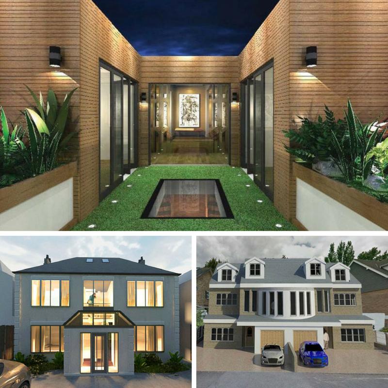Architect vs Interior Designer Extension Architecture London