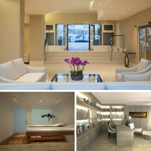 Image of the interiors of change of use on commerical properties completed by Extension Architecture, London based architects