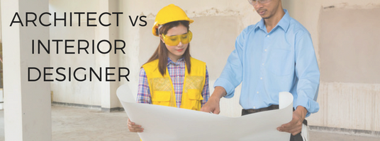Architect vs Interior Designer