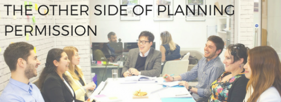 Planning Applications; The Other Side of the Coin