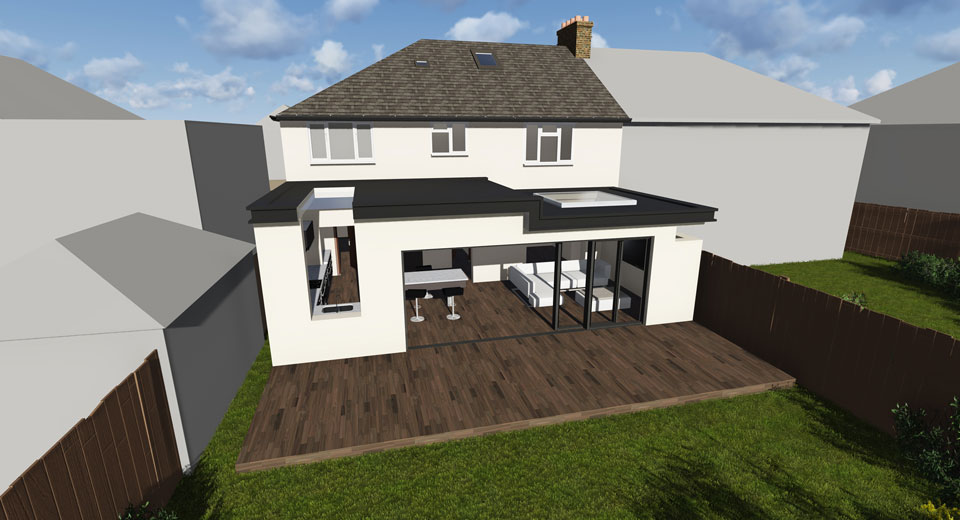 Single-Storey-Extension-and-Rear-Extension-in-Sutton-1