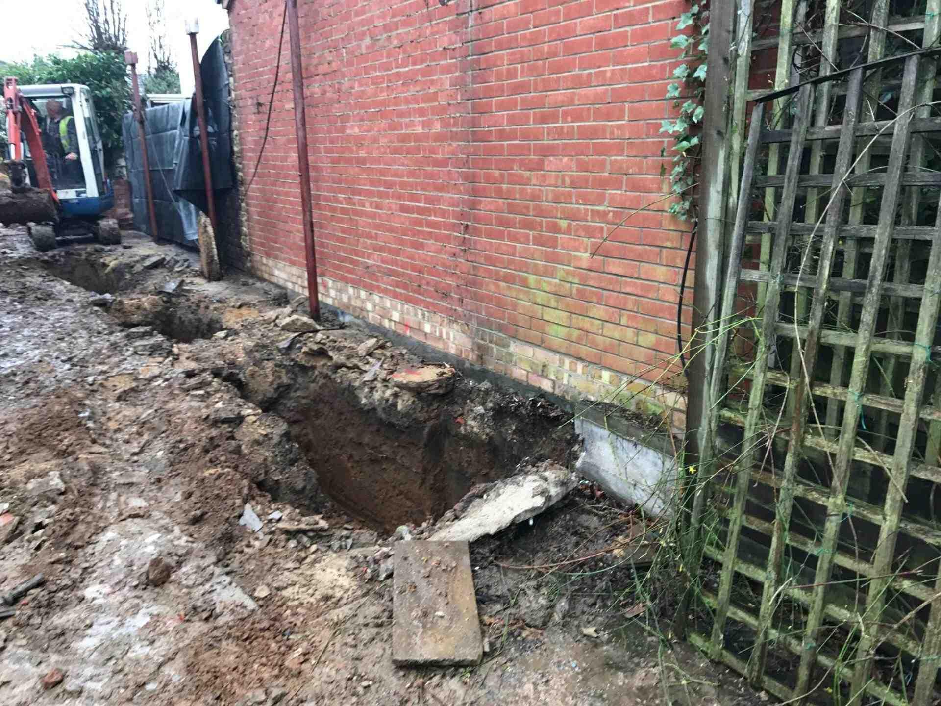 Excavations London