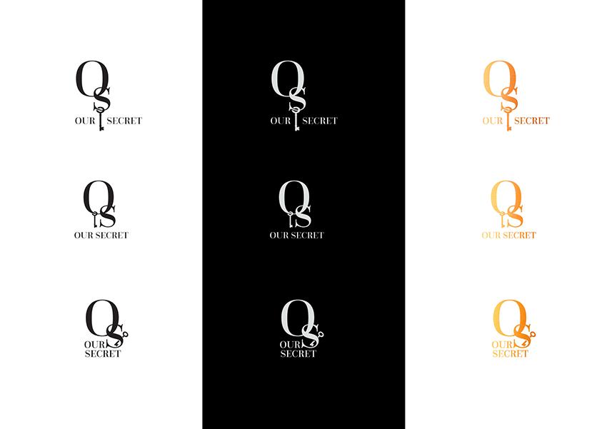 logo options for spa blog - our secret