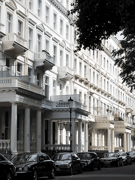 image of conservation area (South Kensington) for design and access statement article