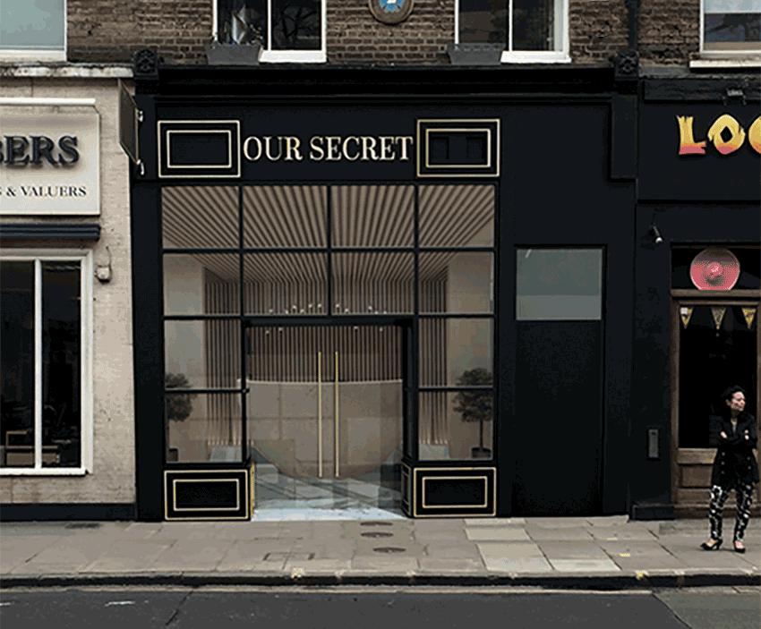 facade image for spa blog - our secret