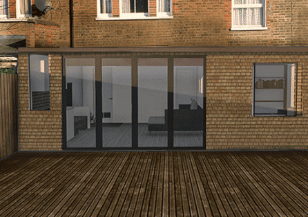 First class extension in Tooting