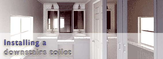 Installing a Downstairs Toilet or Cloakroom in London