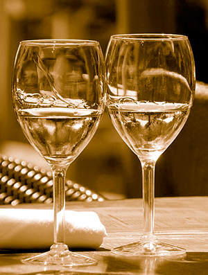 image SHOWING glasses of wine for article on PROPERTY developers ARTICLE