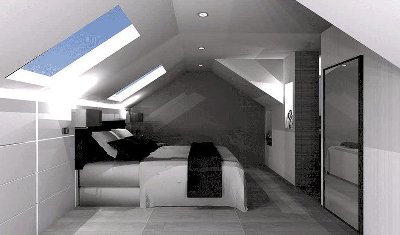 interior loft image for article on permitted development