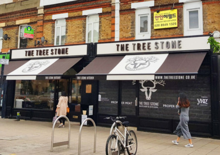 Change of use A1 to A3 Butcher and Restaurant in Kingston