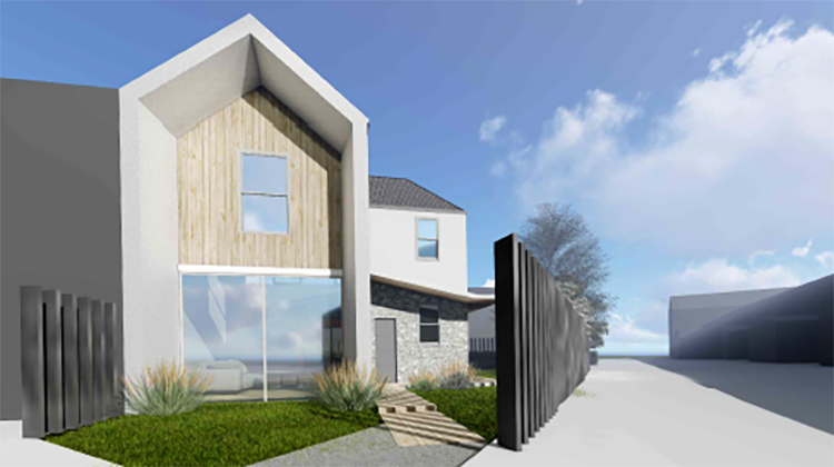 exterior render of new build for recently approved projects blog