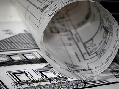 photo of drawings for article on Planning Permission for Extension