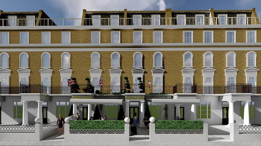 render for hotel article by new build architectural practice