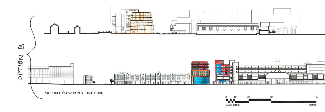 Proposed-Elevation for New Developments North London portfolio article