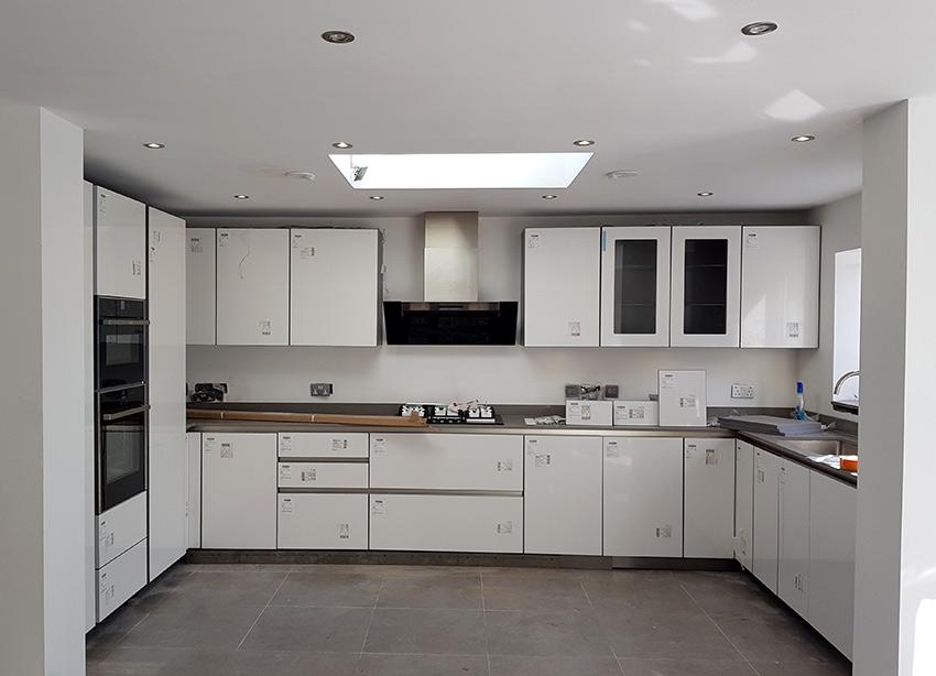 kitchen image on portfolio for rear exterior image on portfolio for extension and landscaping